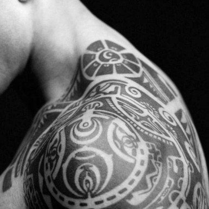 Tattoo of Dwayne Johnson aka The Rock